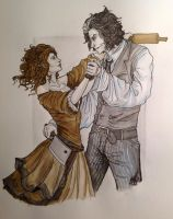 Sweeney Todd by LittleSketchRaven