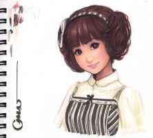 Classic Doll Girl by Omar-Dogan