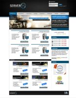 Server360 Hosting Design by BAS-design