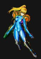 Zero Suit Samus by twilightzant