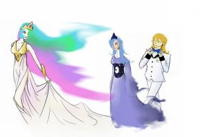 Royal Family of Equestria by MatiMS