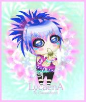 Lycaena is luv by GarasudamA