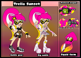 (OLD).:Reference sheet - Trella:. by sonicsilver12