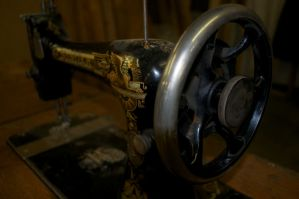 Sewing Machine by Red-Isabell