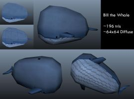 Bill the Whale by Loucife