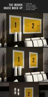 The interior house MockUps by luuqas