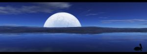 Wallpaper - Big blue by emailandthings