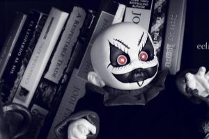 Schitzo a Living Dead Doll by lorewith-na-athend