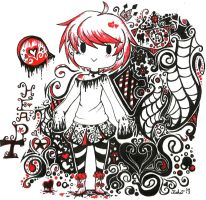 The Queen of Hearts by rieha