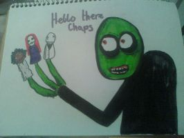 Salad Fingers by Itsasammich