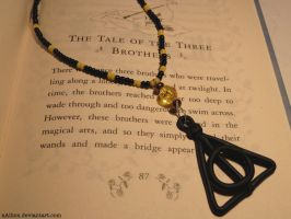 Deathly Hallows Necklace by xAllion