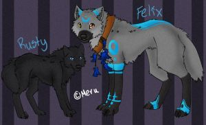 .Ref Sheet - Felix_Rusty.+ by Kintanga