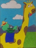 The Turtle Who Drove A Giraffe by pl3th0ra