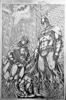 Batman and Robin by cristianosuguitani
