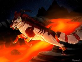 ANIMATED (click :))  .:I live in Hell:. by Kireya