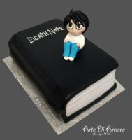 Death Note Cake by ArteDiAmore