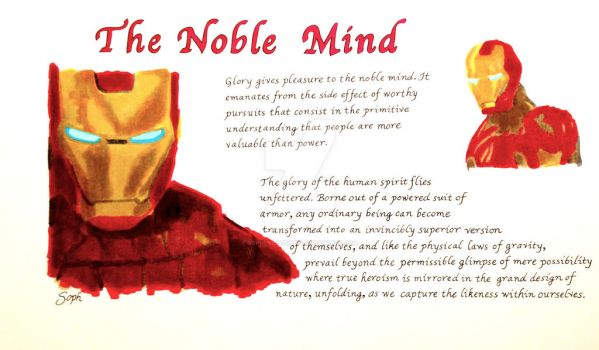 The Noble Mind by SophlyLaughing