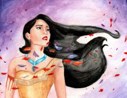 Colors of the Wind (Pocahontas) by julesrizz