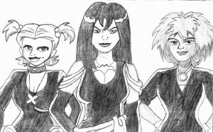 The Hex Girls by SinisterSorrows