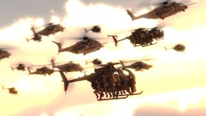 Air Transport Convoy by LordHayabusa357