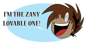 Zany Lovable One Design by eecomics