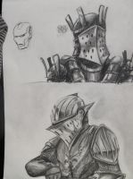 Dark Souls sketches by duh-veed