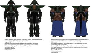 Serif Order Guardian and TechPriest battle armors. by madcomm