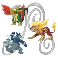 My Fisrt Generation Starters 3 by Random1500