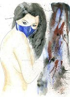 Kitana Watercolor by Chuck-K