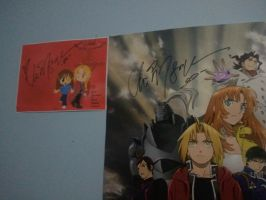Vic Mignogna autograph 2 by Amy-Oh