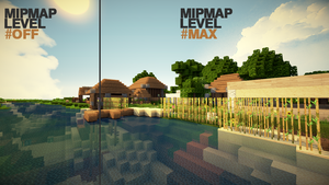 Minecraft - Mipmap Level Effect by lpzdesign