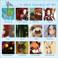 A heck of a 2014 by Yufika