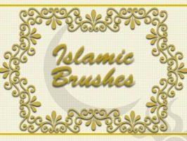 Islamic text brushes by razz79