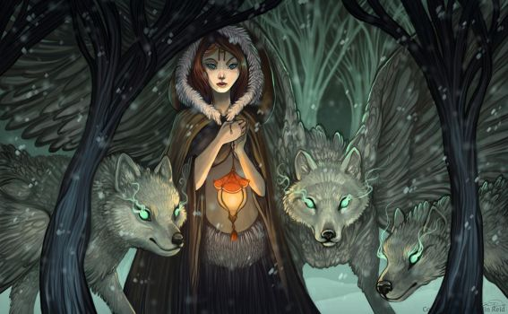 Dream Wolves by Flying-Fox