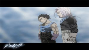 Dragonball AF - Vegeta and Trunks 1280 HD by BIZMedia14