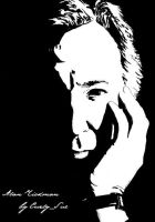 Alan Rickman by CurlySue1