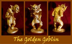 The Golden Goblin - Cthulhu Mythos by zombiequadrille