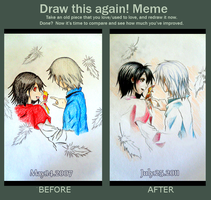 Meme: Draw This Again by behindsmiles