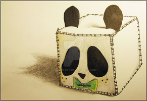 Panda Cube by Simonetry
