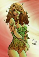 Young Poison Ivy by JessHavok