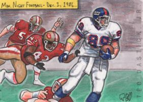 Mark Bavaro vs The 49ers by tdastick