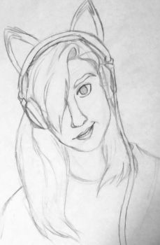 Old Self Portrait :sketch: by Neonnah