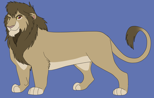 Single Lion Point Adoptable 1 {CLOSED} by AnimeFan4Eternity23