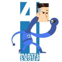 Cornered: Mr. Fantastic by brodiehbrockie