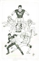 Young Justice by peetietang
