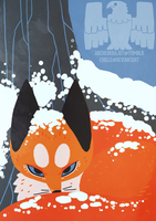 Fox calendar ilustration 2 by Chigle