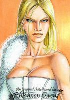 White Queen Sketch Card '09 by Dangerous-Beauty778
