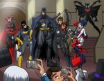 Batfamily cosplay by Sean-Loco-ODonnell by LoneStranger