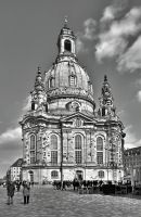 Frauenkirche in Dresden II by pingallery