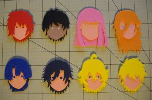 Foam Faces: UtaPri by Meika02